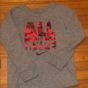 4T Nike long sleeve